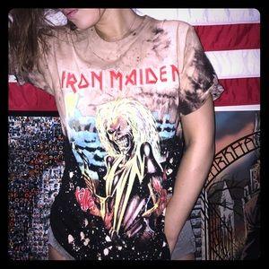 Iron Maiden killers custom top